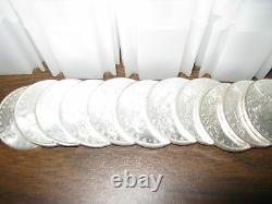 100 Brilliant Uncirculated Pre 1921 Morgan Silver Dollars Blast White Coins