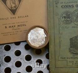 $10 BU Morgan Roll UNC Silver Dollar 1885 & P Morgan Dollar Ends