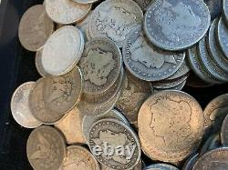 10 Coins $1 Cull 1878-1904 Morgan US Silver Dollars Eagle 90% Bulk Lot 1/2 Roll