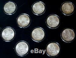 1878 -1925 USA Treasury Hoard 20 Morgan & Peace Silver Dollar Collection Set