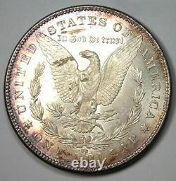 1878-CC Morgan Silver Dollar $1. Uncirculated Detail (UNC MS) Carson City Coin