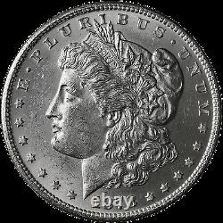 1878-P 7/8TF Morgan Silver Dollar Brilliant Uncirculated BU