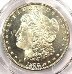 1878-S Morgan Silver Dollar $1 Coin PCGS MS65 PL (Prooflike) Near DMPL