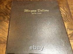 1878 to 1890 Morgan Silver Dollar Dansco album set collection keys included