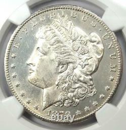 1879-CC Morgan Silver Dollar $1 Clear CC NGC Uncirculated Detail (UNC MS BU)