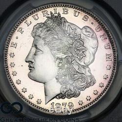 1879 PCGS Morgan Silver Dollar PROOF PR 63 Nice Cameo Look, 1100 PF Issued
