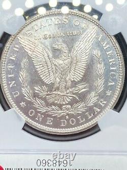 1879-S Morgan Silver Dollar NGC MS67 NEARLY Prooflike PL, 3 DAY NR $1 Auction