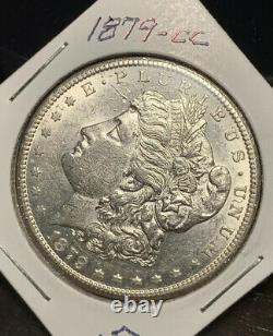 1879-cc Morgan Silver Dollar, Bu Details