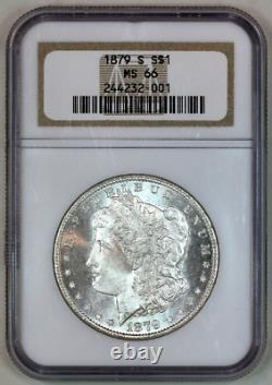1879-s Ms66 Ngc Morgan Silver Dollar Premium Quality Superb Eye Appeal