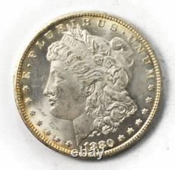 1880 CC $1 Morgan Silver One Dollar Carson City 78 Rev 80/79 VAM 4