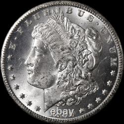1880-CC GSA Morgan Silver Dollar Dash'8' Choice BU Blast White Strong Strike