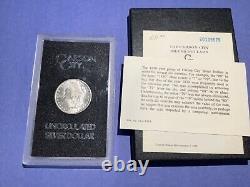 1880-CC GSA Rev of 79 Morgan Silver Dollar WithBox & COA b14a