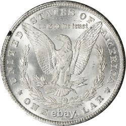 1880-CC US Morgan Silver Dollar $1 GSA Holder Uncirculated NGC MS65 CAC
