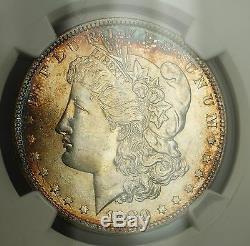 1880-O Morgan Silver Dollar $1 Coin NGC MS-64+ Gorgeous Gem