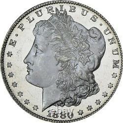 1880-S Morgan Dollar PCGS MS66PL CAC, DMPL obverse
