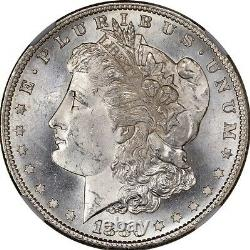 1880-S Morgan Silver Dollar Brilliant Uncirculated BU