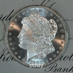 1880-s Choice Gem Bu Ms Morgan Silver Dollar Fresh From Original Roll