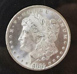 1881-CC Morgan Silver Dollar NGC MS64+ Plus GSA Hoard BOX & COA