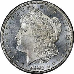 1881-S Morgan Silver Dollar Brilliant Uncirculated BU