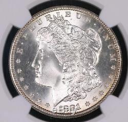 1881 S Morgan Silver Dollar Coin Ngc Ms67 Cac #001001kbj
