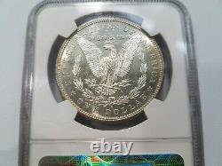 1881 S Morgan Silver Dollar NGC MS 64 Star Looks DMPL DPL Coin Graded Gem