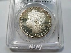 1881 S Silver Morgan Dollar PCGS MS 63 DMPL Deep Mirrors Proof Like PL DPL