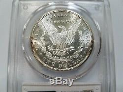 1881 S Silver Morgan Dollar PCGS MS 64+ Plus Nice Mirrors Luster Graded Coin