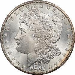 1881-cc Morgan Dollar Pcgs Ms-64 Pretty Reverse Pq! Cac Approved