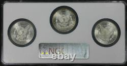 1882-84-CC Morgan Dollar Wild West Collection NGC MS-65 Multi-Coin Holder