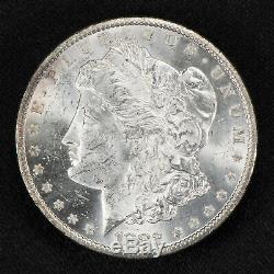 1882-cc $1 Morgan Silver Dollar, Key Date Carson City Uncirculated Coin #v809