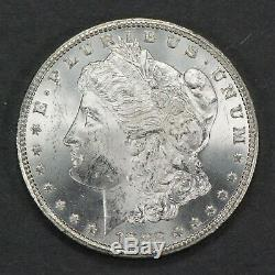 1882-cc $1 Morgan Silver Dollar, Unc Key Date Carson City Coin Luster! Lot#q328