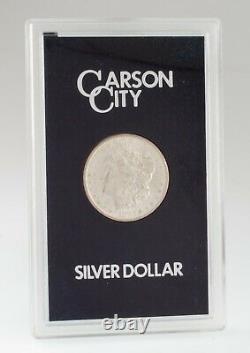1883-CC $1 Silver Morgan Dollar in GSA Holder with Box