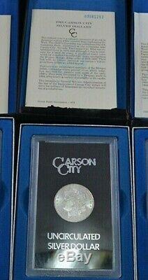 1883 CC Carson City GSA Morgan Silver Dollar Box/COA Uncirculated