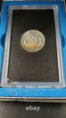 1883 CC Carson City GSA Morgan Silver Dollar PQ Rainbow Toning Reverse CH BU