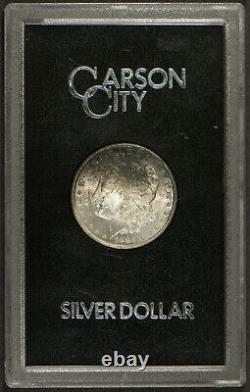 1883-CC MORGAN Silver DOLLAR GSA SLAB ORIGINAL TONING! Lot#R480