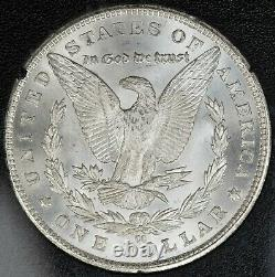1883-CC Morgan Dollar NGC MS-64 (GSA Holder) VAM-8A Double Date Clashed Obv