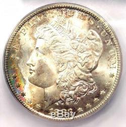 1883-CC Morgan Silver Dollar $1 ICG MS67 Rare in MS67 Grade $3,880 Value