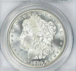 1883-CC Morgan Silver Dollar, PCGS MS 64, reflective fields! CAC Approved