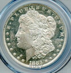 1883 O Morgan Silver Dollar PCGS MS 63 DMPL Deep Mirror Proof Like