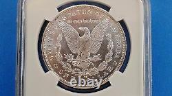1883 cc Morgan Silver Dollar MS 65 NGC Brilliant Luster