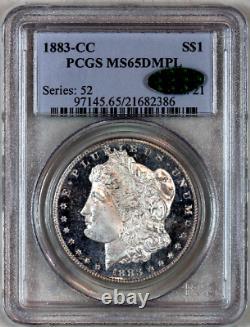 1883-cc Ms65 Dmpl Pcgs Cac Morgan Silver Dollar Premium Quality