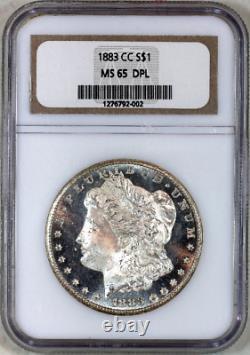 1883-cc Ms65 Dpl Ngc Proof-like Morgan Silver Dollar Superb Eye Appeal