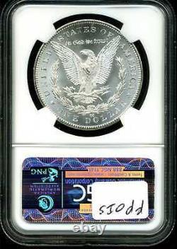 1884-CC $1 Morgan Silver Dollar MS64 NGC 3695614-037