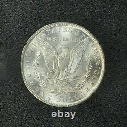 1884-CC $1 Morgan Silver Dollar, NGC MS 65, in GSA holder, GEM