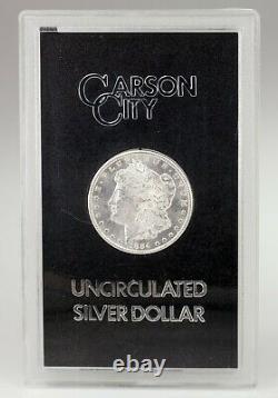 1884-CC $1 Uncirculated Silver Morgan Dollar in GSA Holder (No Box or CoA)