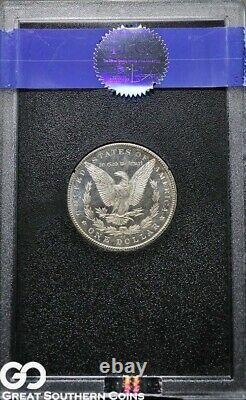 1884-CC Morgan Silver Dollar, Dmpl Hoard NGC MS 65 Deep Mirror Proof Like