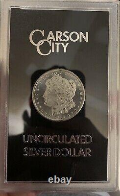 1884 CC Morgan Silver Dollar GSA WILL GRADE HIGH