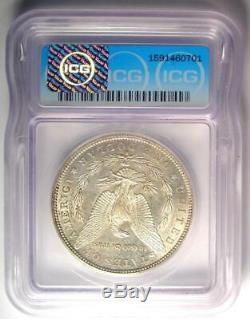 1884-S Morgan Silver Dollar $1 ICG AU58 Rare Date in AU58 $2,760 Value
