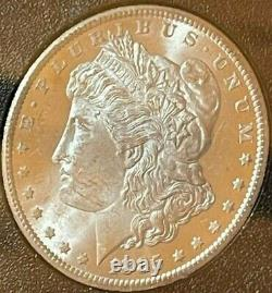 1885 CC $1 Gsa Hoard 1885 Carson City Morgan Dollar $1 With Box & Coa Key Date