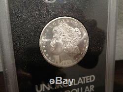 1885-CC $ Morgan Silver Dollar GSA Grand Pa's Collection Proof Like